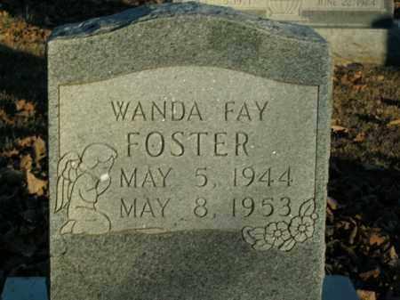 FOSTER, WANDA FAY - Boone County, Arkansas | WANDA FAY FOSTER - Arkansas Gravestone Photos