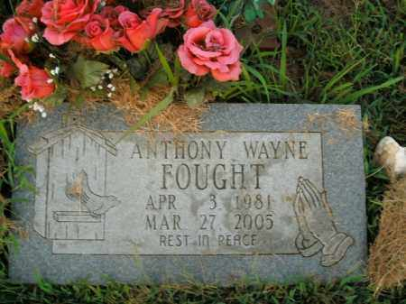 FOUGHT, ANTHONY WAYNE - Boone County, Arkansas | ANTHONY WAYNE FOUGHT - Arkansas Gravestone Photos