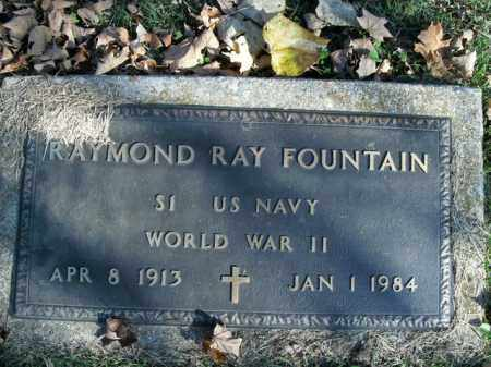 FOUNTAIN  (VETERAN WWII), RAYMOND RAY - Boone County, Arkansas | RAYMOND RAY FOUNTAIN  (VETERAN WWII) - Arkansas Gravestone Photos