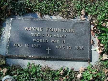 FOUNTAIN  (VETERAN WWII), WAYNE - Boone County, Arkansas | WAYNE FOUNTAIN  (VETERAN WWII) - Arkansas Gravestone Photos