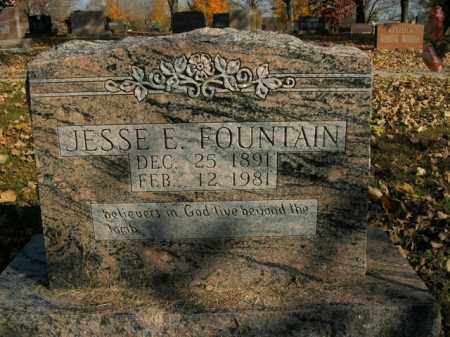 FOUNTAIN, JESSE E. - Boone County, Arkansas | JESSE E. FOUNTAIN - Arkansas Gravestone Photos