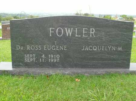 FOWLER, ROSS EUGENE - Boone County, Arkansas | ROSS EUGENE FOWLER - Arkansas Gravestone Photos