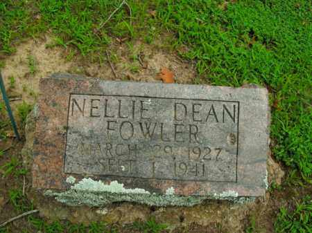 FOWLER, NELLIE DEAN - Boone County, Arkansas | NELLIE DEAN FOWLER - Arkansas Gravestone Photos