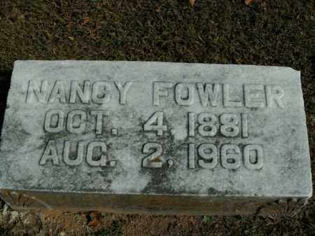 FOWLER, NANCY - Boone County, Arkansas | NANCY FOWLER - Arkansas Gravestone Photos