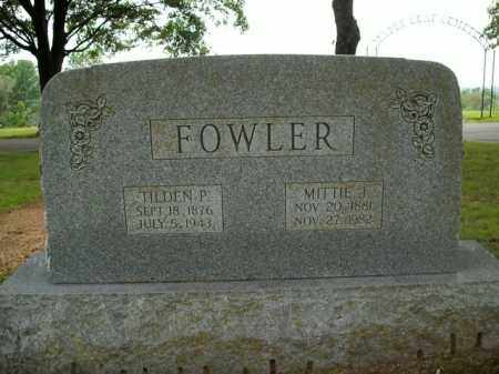 FOWLER, MITTIE JANE - Boone County, Arkansas | MITTIE JANE FOWLER - Arkansas Gravestone Photos