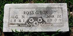 FOX, ROSS G. - Boone County, Arkansas | ROSS G. FOX - Arkansas Gravestone Photos