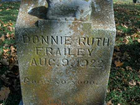FRAILEY, DONNIE RUTH - Boone County, Arkansas | DONNIE RUTH FRAILEY - Arkansas Gravestone Photos