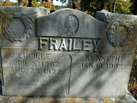 HOLT FRAILEY, LUCILLE - Boone County, Arkansas | LUCILLE HOLT FRAILEY - Arkansas Gravestone Photos