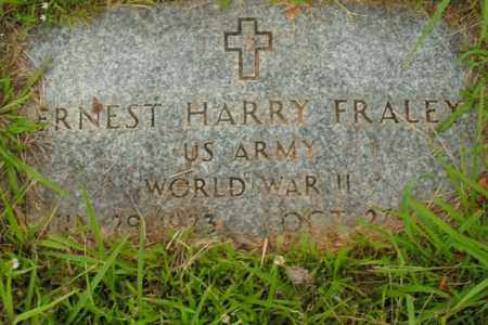 FRALEY  (VETERAN WWII), ERNEST HARRY - Boone County, Arkansas | ERNEST HARRY FRALEY  (VETERAN WWII) - Arkansas Gravestone Photos