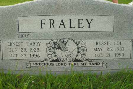 FRALEY, BESSIE LOU - Boone County, Arkansas | BESSIE LOU FRALEY - Arkansas Gravestone Photos