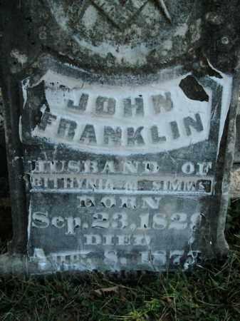 SIMMS, JOHN FRANKLIN - Boone County, Arkansas | JOHN FRANKLIN SIMMS - Arkansas Gravestone Photos