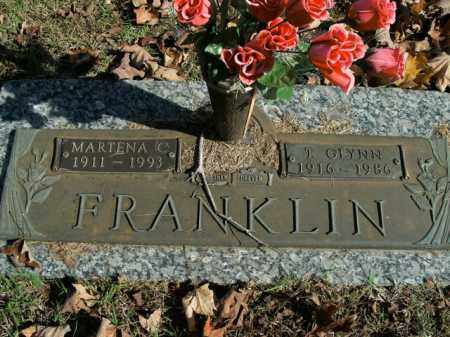 FRANKLIN, THOMAS GLYNN - Boone County, Arkansas | THOMAS GLYNN FRANKLIN - Arkansas Gravestone Photos