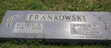 FRANKOWSKI, ARTHUR P - Boone County, Arkansas | ARTHUR P FRANKOWSKI - Arkansas Gravestone Photos