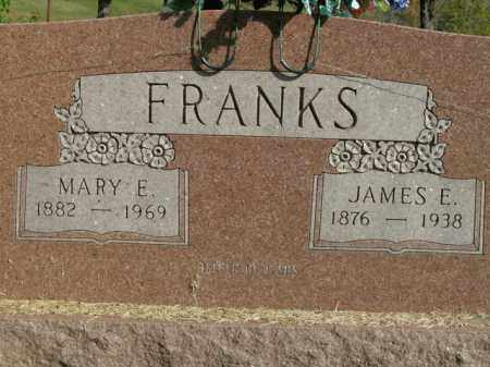 FRANKS, JAMES E. - Boone County, Arkansas | JAMES E. FRANKS - Arkansas Gravestone Photos
