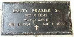 FRAZIER , SR (VETERAN WWII), LANTY - Boone County, Arkansas | LANTY FRAZIER , SR (VETERAN WWII) - Arkansas Gravestone Photos
