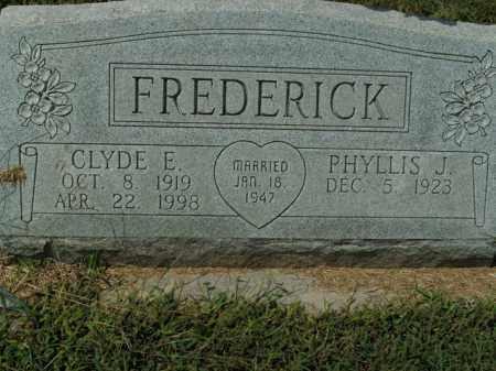 FREDERICK, CLYDE E. - Boone County, Arkansas | CLYDE E. FREDERICK - Arkansas Gravestone Photos
