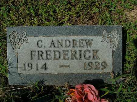 FREDERICK, C. ANDREW - Boone County, Arkansas | C. ANDREW FREDERICK - Arkansas Gravestone Photos