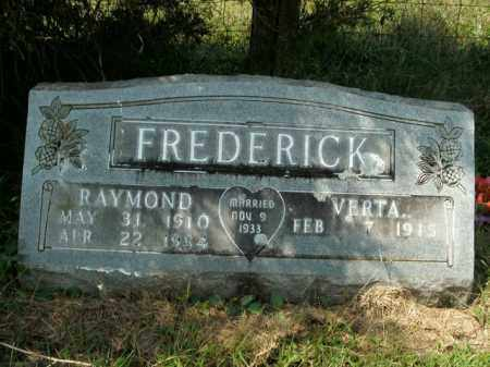 FREDERICK, WILLIAM RAYMOND - Boone County, Arkansas | WILLIAM RAYMOND FREDERICK - Arkansas Gravestone Photos