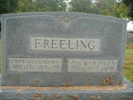 GILMORE FREELING, EMMA - Boone County, Arkansas | EMMA GILMORE FREELING - Arkansas Gravestone Photos