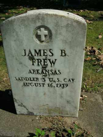 FREW  (VETERAN), JAMES BARCUS - Boone County, Arkansas | JAMES BARCUS FREW  (VETERAN) - Arkansas Gravestone Photos
