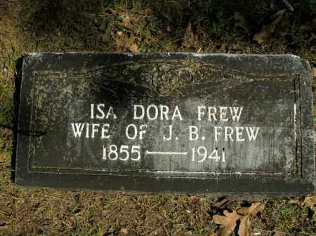 FREW, ISA DORA - Boone County, Arkansas | ISA DORA FREW - Arkansas Gravestone Photos
