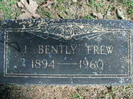 FREW, J. BENTLY - Boone County, Arkansas | J. BENTLY FREW - Arkansas Gravestone Photos
