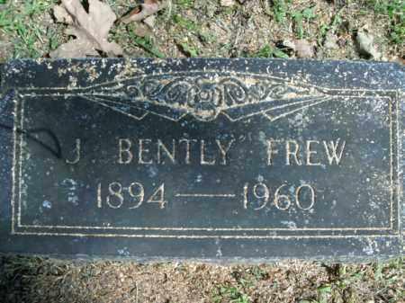 FREW, J. BENTLY - Boone County, Arkansas | J. BENTLY FREW - Arkansas Gravestone Photos