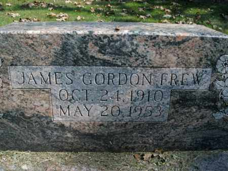 FREW, JAMES GORDON - Boone County, Arkansas | JAMES GORDON FREW - Arkansas Gravestone Photos