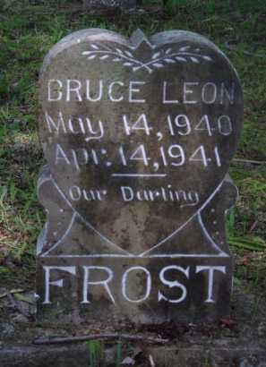 FROST, BRUCE LEON - Boone County, Arkansas | BRUCE LEON FROST - Arkansas Gravestone Photos