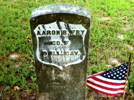FRY  (VETERAN UNION), AARON B - Boone County, Arkansas | AARON B FRY  (VETERAN UNION) - Arkansas Gravestone Photos