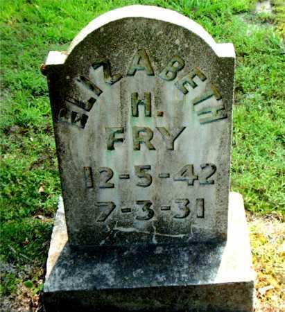 FRY, ELIZABETH H. - Boone County, Arkansas | ELIZABETH H. FRY - Arkansas Gravestone Photos