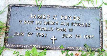FRYER  (VETERAN WWII), JAMES  C - Boone County, Arkansas | JAMES  C FRYER  (VETERAN WWII) - Arkansas Gravestone Photos