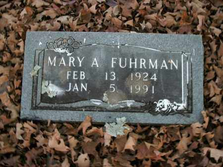 FUHRMAN, MARY ANN - Boone County, Arkansas | MARY ANN FUHRMAN - Arkansas Gravestone Photos