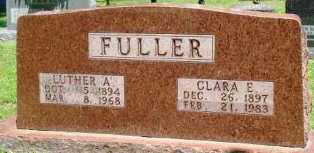 FULLER, CLARA E - Boone County, Arkansas | CLARA E FULLER - Arkansas Gravestone Photos
