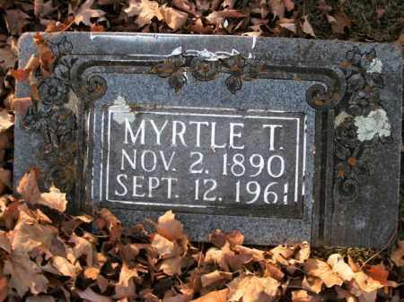 FULLER, MYRTLE T. - Boone County, Arkansas   MYRTLE T. FULLER - Arkansas Gravestone Photos