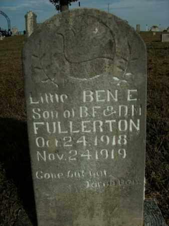 FULLERTON, BEN E. - Boone County, Arkansas | BEN E. FULLERTON - Arkansas Gravestone Photos