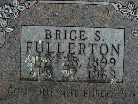 FULLERTON, BRICE SHARPENSTEIN - Boone County, Arkansas | BRICE SHARPENSTEIN FULLERTON - Arkansas Gravestone Photos