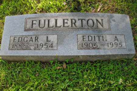 FULLERTON, EDGAR L. - Boone County, Arkansas | EDGAR L. FULLERTON - Arkansas Gravestone Photos