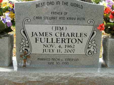FULLERTON, JAMES CHARLES - Boone County, Arkansas | JAMES CHARLES FULLERTON - Arkansas Gravestone Photos