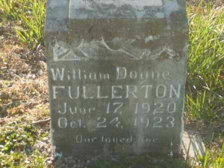 FULLERTON, WILLIAM DOYNE - Boone County, Arkansas | WILLIAM DOYNE FULLERTON - Arkansas Gravestone Photos