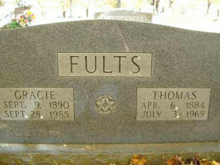 FULTS, GRACIE - Boone County, Arkansas | GRACIE FULTS - Arkansas Gravestone Photos