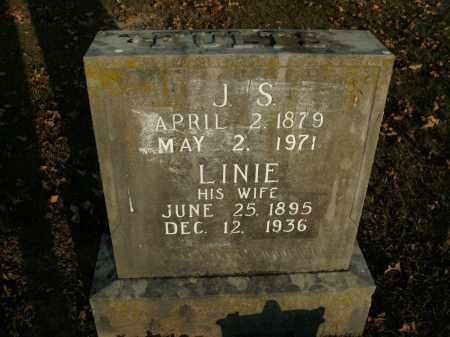 FULTS, LINIE - Boone County, Arkansas | LINIE FULTS - Arkansas Gravestone Photos