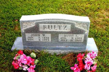FULTZ, JOHN W. - Boone County, Arkansas | JOHN W. FULTZ - Arkansas Gravestone Photos
