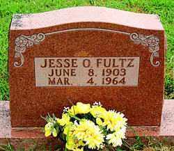 FULTZ, JESSE O. - Boone County, Arkansas | JESSE O. FULTZ - Arkansas Gravestone Photos