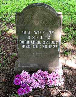 FULTZ, OLA - Boone County, Arkansas | OLA FULTZ - Arkansas Gravestone Photos