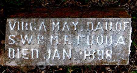 FUOUA, VIRCA MAY - Boone County, Arkansas | VIRCA MAY FUOUA - Arkansas Gravestone Photos