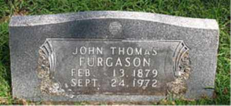 FURGASON, JOHN THOMAS - Boone County, Arkansas | JOHN THOMAS FURGASON - Arkansas Gravestone Photos
