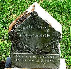 FURGASON, JESSIE BURL - Boone County, Arkansas | JESSIE BURL FURGASON - Arkansas Gravestone Photos