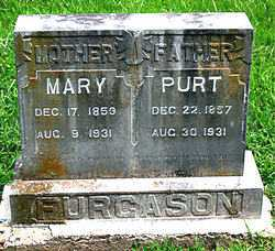 FURGASON, PURT - Boone County, Arkansas | PURT FURGASON - Arkansas Gravestone Photos
