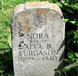 FURGASON, NORA - Boone County, Arkansas | NORA FURGASON - Arkansas Gravestone Photos